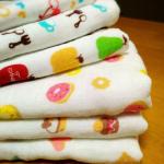 トゥシェのタオルが大好きです!日本製ガーゼタオルはふんわりやわらか。