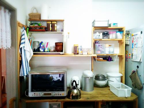 キッチン前