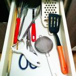 収納ベタが、セリア製品でキッチンツールを収納してみた。