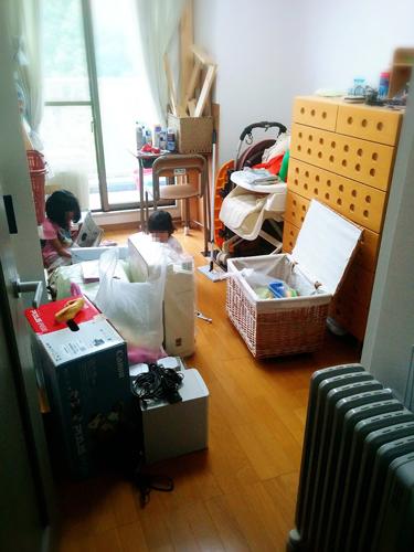 汚れ部屋ビフォー