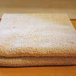 トゥシェの日本製ビッグフェイスタオルは定番です。