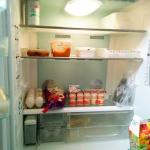 冷蔵庫はスッキリだけど、家族には不評です。