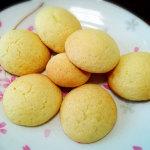 クッキーのつもりが甘食っぽくなったホットケーキミックスで作るクッキー。