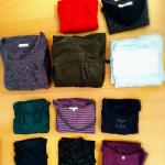 激減した秋冬服は、この枚数で乗り切る!セール前の洋服見直し強化週間です。