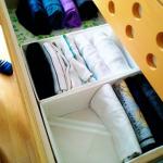 こんまり流片付け術で実践!夫の衣類をときめきチェック。片付け祭り後はゆとりのタンス