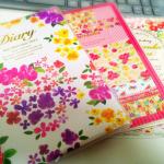 108円でもお気に入り!ダイソーで2015年度の手帳を購入。