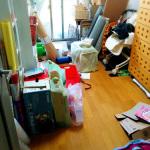 汚部屋を掃除。そして、古い家電は使わない!事故を未然に防ぐために。