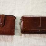 役目を終えた財布、どう処分する?古いお財布も、役割を与えて大切に使っています。