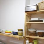 キッチンの動線を改善!食器をすべて移動させてました。