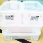 【おもちゃ収納】カインズでコロの向きが変えられるコロ付きハードケースを購入。