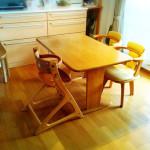 持たない暮らしへシフト。こたつテーブルを買ったので、ダイニングテーブルを手放します。