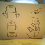 【IKEA】配慮がうれしい。食器が割れにくい無料の持ち運びケース。