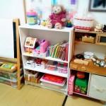 子ども部屋を片付けながら、また模様替えを画策してしまいました