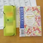 手帳術を伝授してもらいました。小学生+幼稚園ママの簡単シンプルな手帳術。
