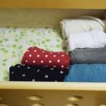 処分予定だったタンスへ姉妹の洋服を収納。ものにも役割を与えると輝き始める