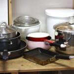 鍋、フライパン、持ちすぎていませんか?油断してると増えるキッチン用品です