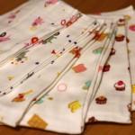 日本製タオルでそろえています。ヒオリエさんのビッグフェイスタオル。