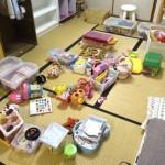3歳未満のおもちゃは親の権限で片付ける!おもちゃの片付け祭り。