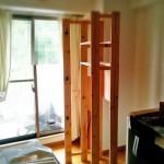 汚部屋を片付けて大改造!DIYで作ったモノはいらなくなれば解体です。