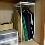 押入れを有効活用!押入れに洋服を収納するのにベストなアルゴートを購入。