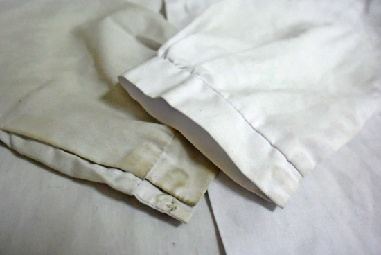 袖口の比較