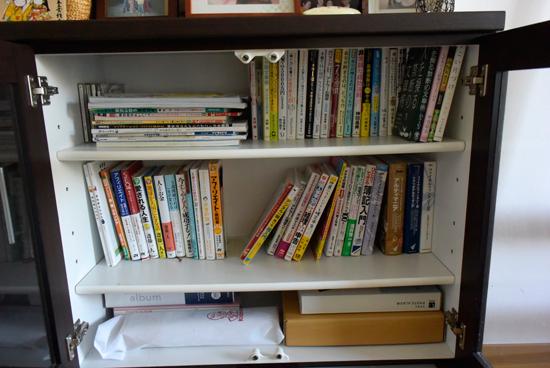 寝室の本棚アフター