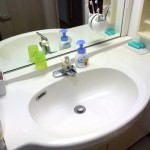 洗面所を徹底掃除!水回りの掃除をすると気持ちが落ち着きました。