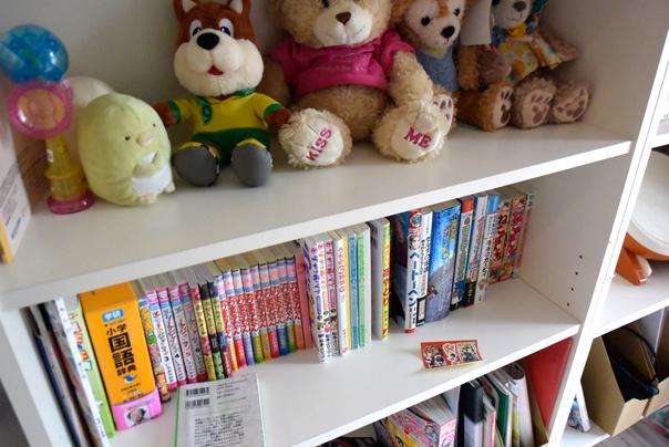 長女の本棚