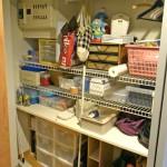 廊下の収納庫を改善させる。わたしが実際にやっている収納を改善させるステップを紹介