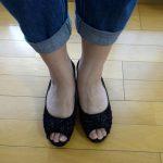 足が大きめな女性の、ちょっと役立つ靴の選び方。デニムにもしっくり!
