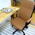 IKEAの椅子(MALKOLM)で小さなホームオフィスが完成。快適な作業環境で集中して仕事をする