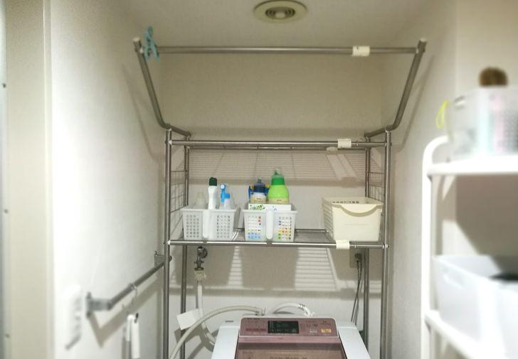 洗濯機うえの洗剤