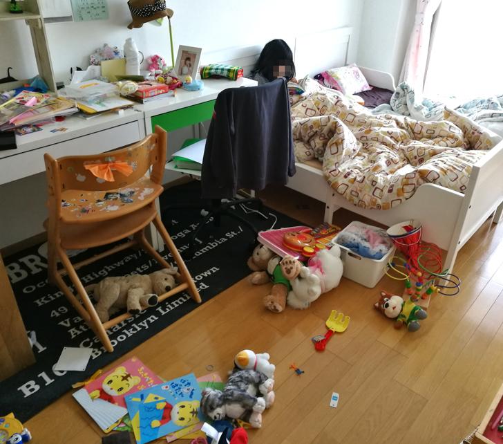 春休みの子ども部屋