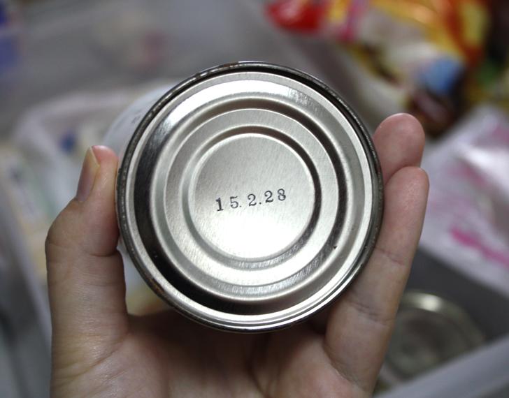 缶詰の期限切れ