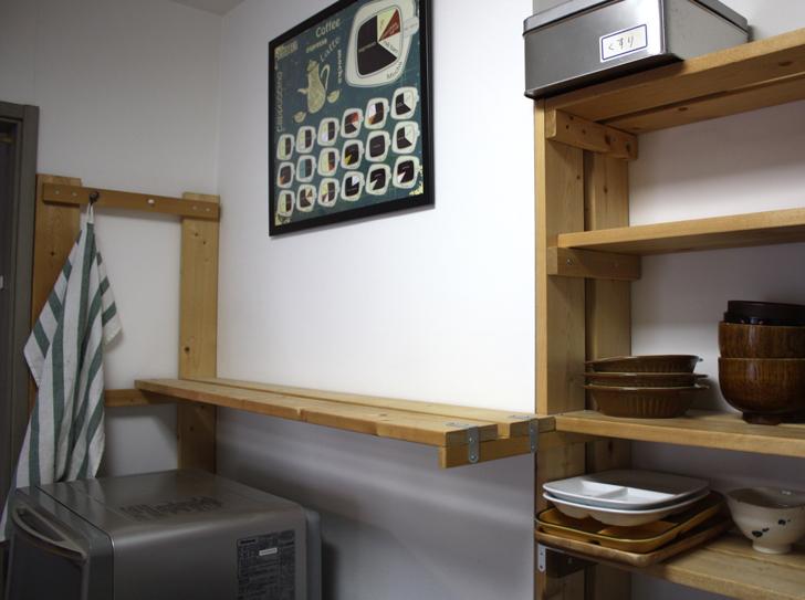キッチンの収納改善