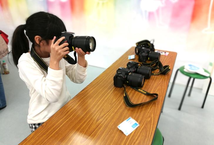 カメラマン体験