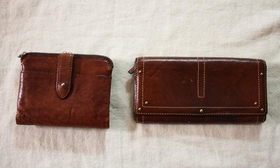古いお財布