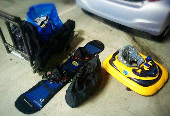 スキー用品の買取