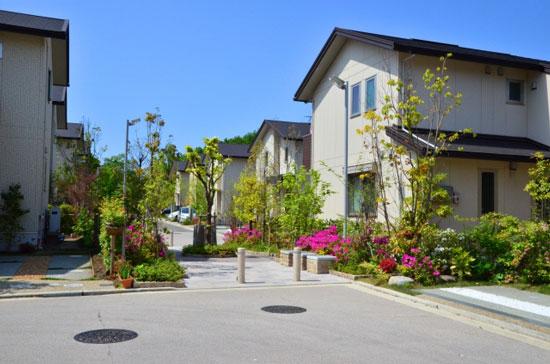 住宅地の画像