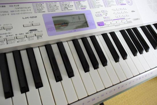 カシオ キーボード アップ