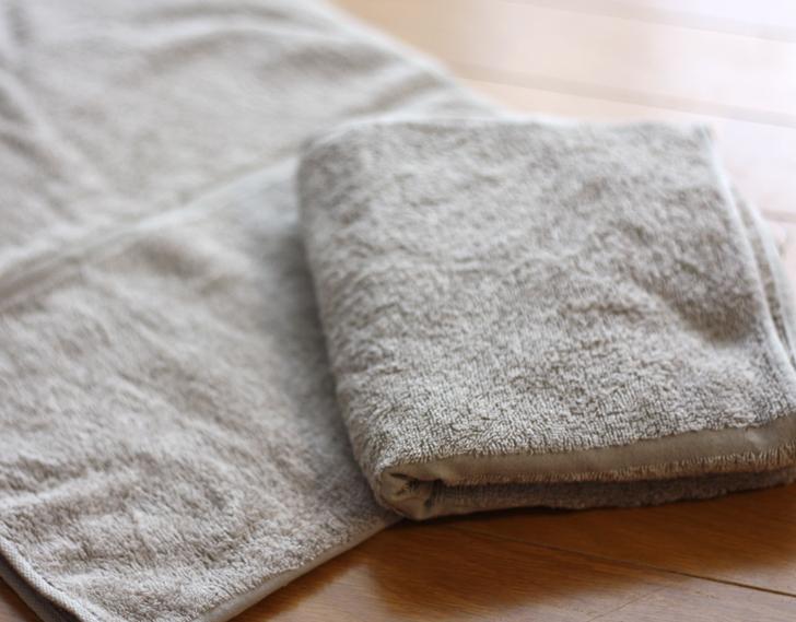 無印良品のタオル